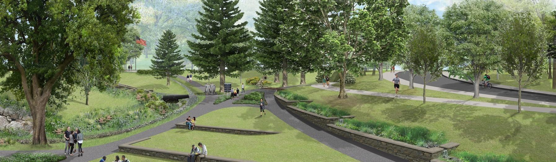 Image of CAD model park