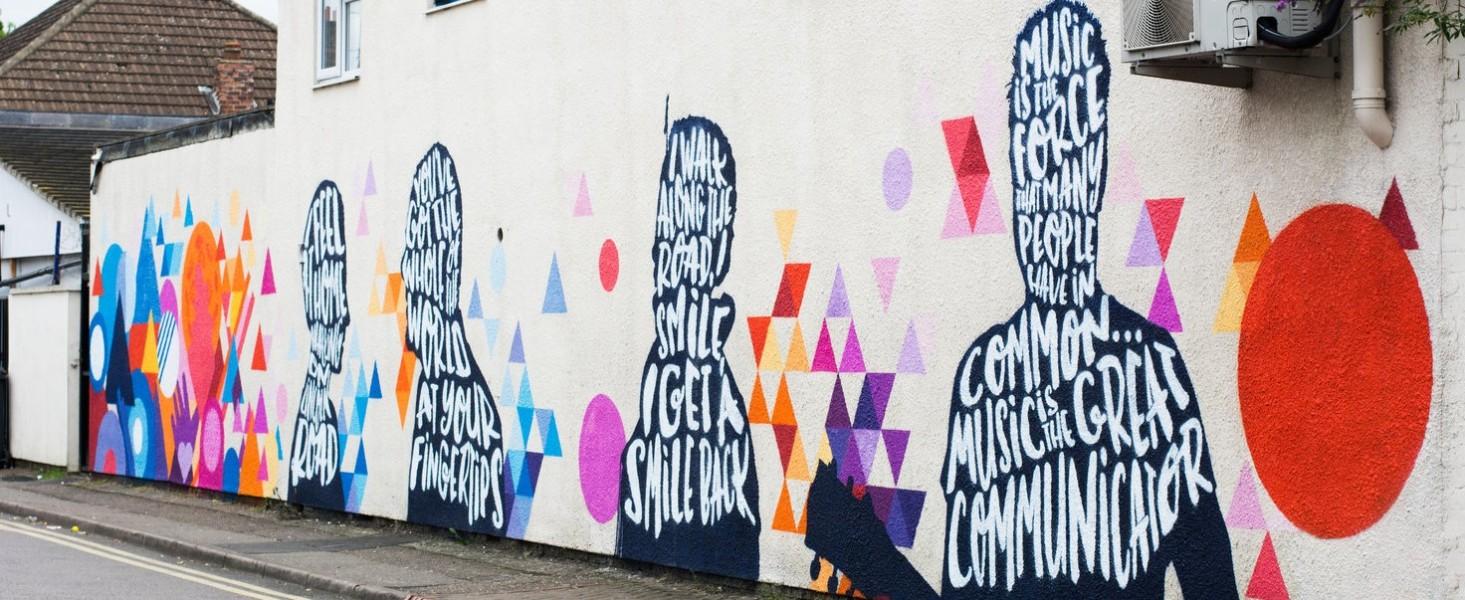 Image of Peterborough Presents street art
