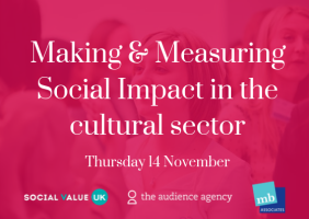 Photo of Making & Measuring Social Impact in the cultural sector