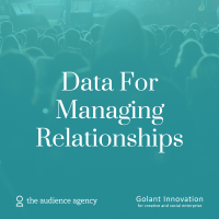 Photo of Data For... Managing Relationships (Cardiff)