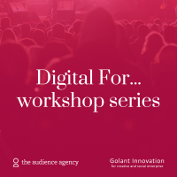 Photo of Workshop Series | Digital For...