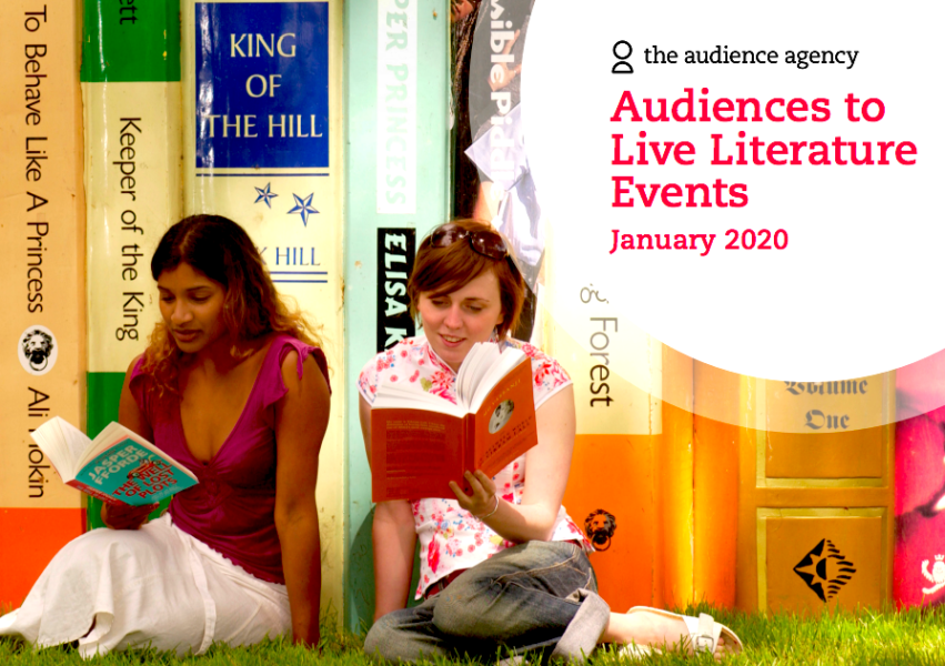 Image of Audiences to Live Literature Events report cover